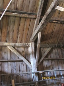 Gilman barn is square and plumb