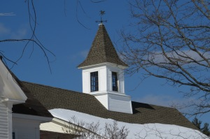 Cupola on Forrest barn