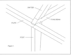 English tying joint sketch